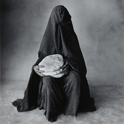 Irving Penn, 'Woman with Three Loaves, Morocco', 1971