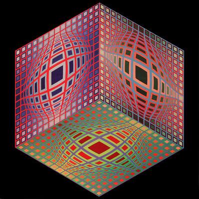 Victor Vasarely, 'TEST-2 ', 1972