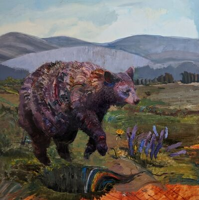Caitlin Hurd, 'Bear I Am Afraid Of', 2020