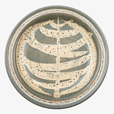 Harrison McIntosh, 'Small plate with abstract design, Claremont, CA', 1960
