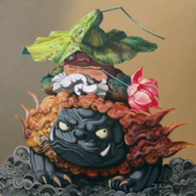 Cheng Liu 陳流, '荷花狮仙 ', 2010