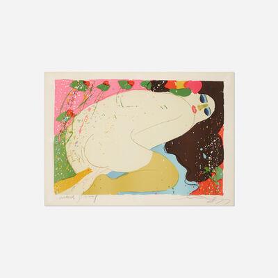 Walasse Ting 丁雄泉, 'I Love to Eat Strawberries', 1977