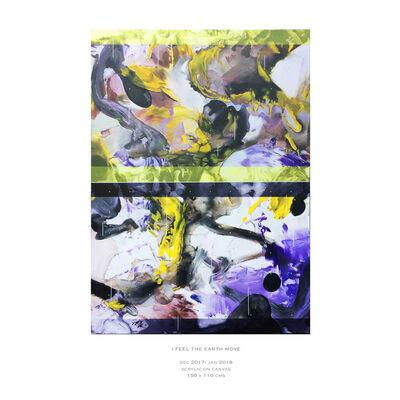 Keith Milow, 'I FEEL THE EARTH MOVE', 2018
