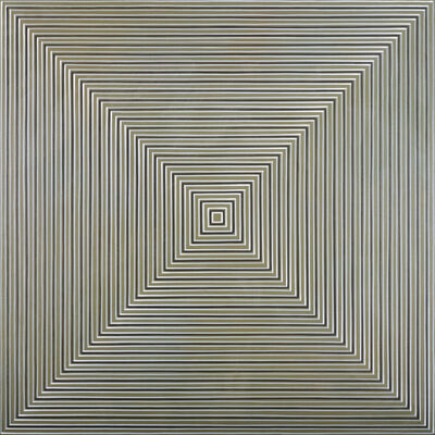 Max Kong, 'Concentric Squares (Finding Yellow)'