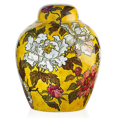 John Bennett, 'Large Covered Jar, New York', 1882