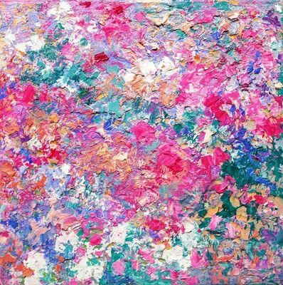 Marta Duran, 'Tapis de fleurs II', 2019