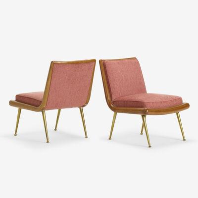 T.H. Robsjohn-Gibbings, 'lounge chairs model 1702, pair', c. 1955