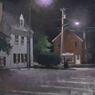 John P. Lasater IV, 'Nighttime Conversation', 2017