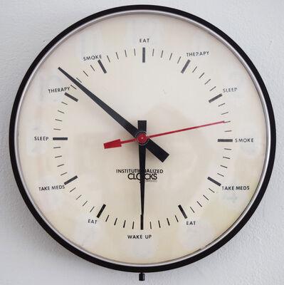 Issa Ibrahim, 'Institutionalized Clock', 2004