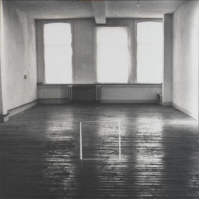 Jan Dibbets, 'Perspective Correction - My Studio II', 1996