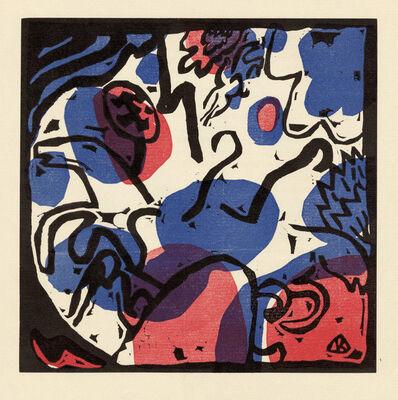 Wassily Kandinsky, 'Drei Reiter in Rot, Blau und Schwarz', 1911