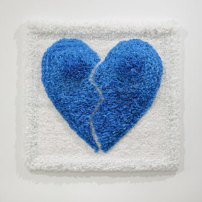 Susie Ganch, 'Please Recycle This Bag:  Heart', 2020