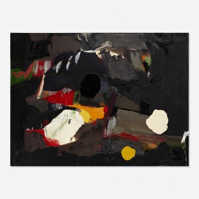 Robert S. Neuman, 'Black Painting No. 3', 1955