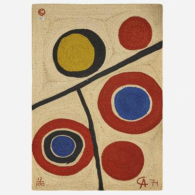 After Alexander Calder, 'Floating Circles tapestry', 1974