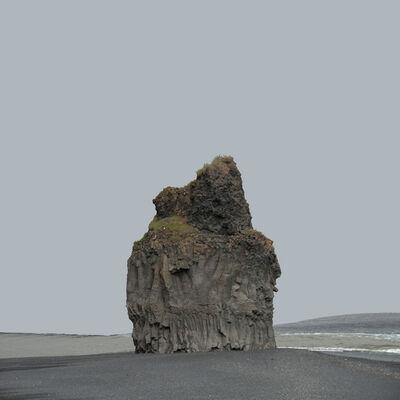 John Ruppert, 'Butte / Dyrholaey', 2012-2013
