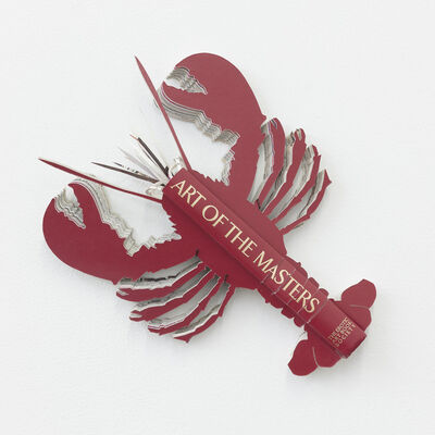 """Robert The, 'Book Lobster """"Art of the Masters""""', 2011"""