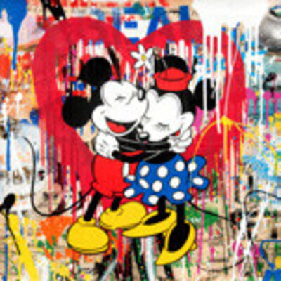 Mr. Brainwash, 'Mickey and Minnie', 2018