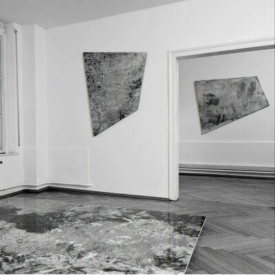 Galerie Tanit at Art Paris Art Fair 2018, installation view