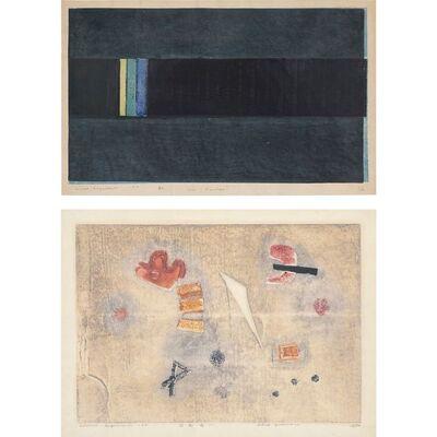 Hideo Hagiwara, 'Iris (Rainbow); Playground (I)'