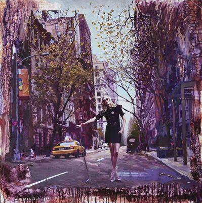CHRIS CAROLINA, 'Woman in the street in New York', 2009