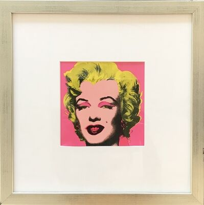 Andy Warhol, 'Marilyn Invitation (Castelli Gallery)', 1981