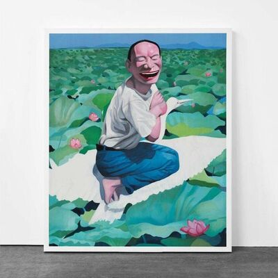 Yue Minjun, 'Lotus Pool (from Snatched Ecstasy)', 2009