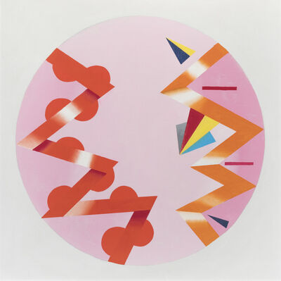 Jack Smith (1928-2011), 'Dialogue on Pink', 2007