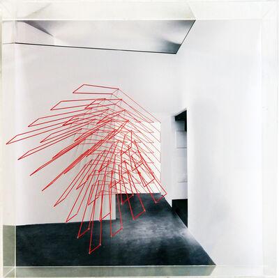 Emanuela Fiorelli, 'Estrusione rossa', 2014