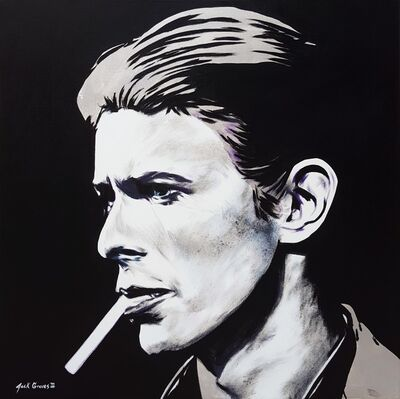 Jack Graves III, 'David Bowie Icon', 2021