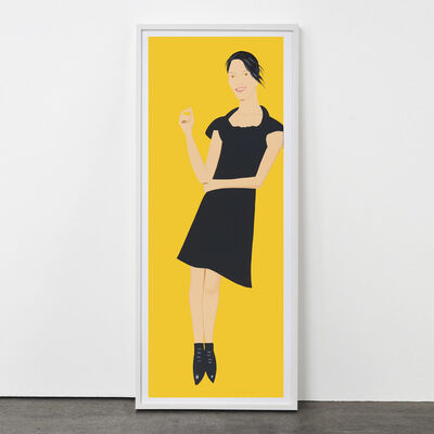 Alex Katz, 'Black Dress (Carmen)', 2015