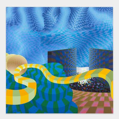 Al Held, 'See Through III', 2001
