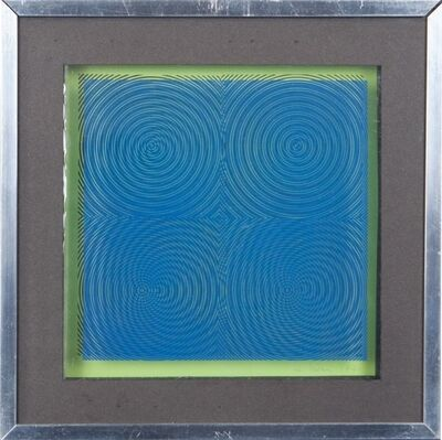Alberto Biasi, 'Dinamica visiva', 1971