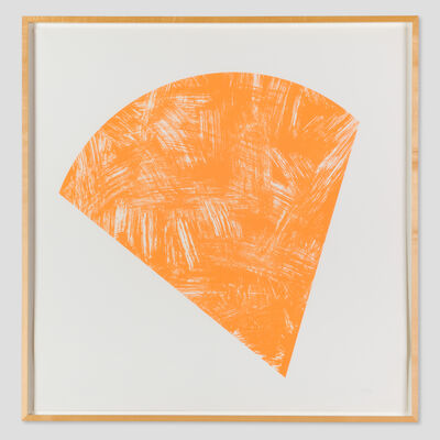 Ellsworth Kelly, 'Untitled (Orange State I)', 1988