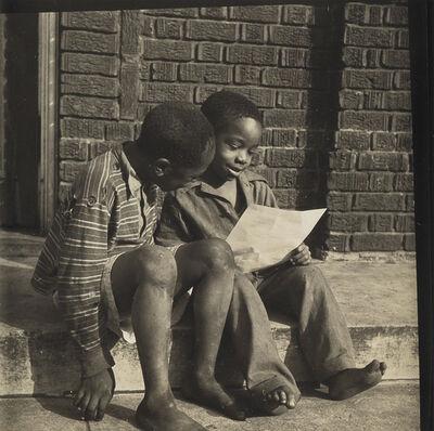 Gordon Parks, 'Two boys reading.', Circa 1940s