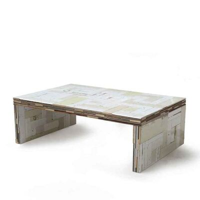 Piet Hein Eek, 'Waste Coffeecube Closed Sides'