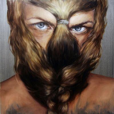 Ágnes Verebics, 'Fur Mask', 2020