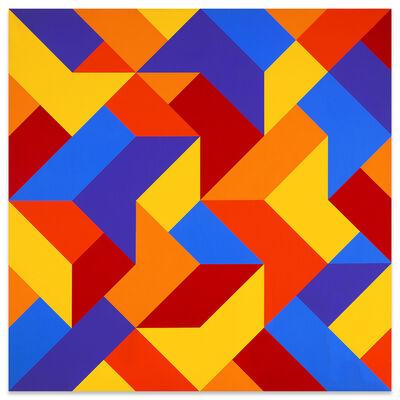 Karl Benjamin, '#3', 1969