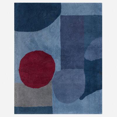 After Paul Klee, 'Bleu-Rouge carpet', c. 1950