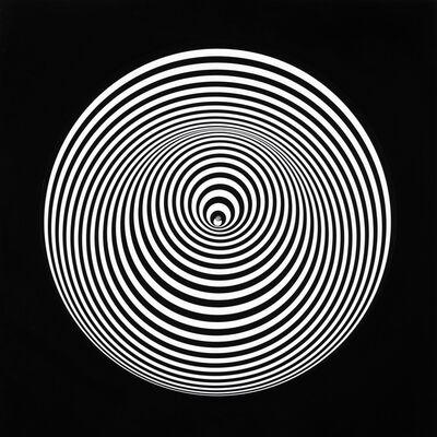 Marina Apollonio, 'Dinamica Circolare 6 S+S 22 Righe', 1966