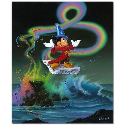 Jim Warren, 'Mickey Making Magic', 1990-2020
