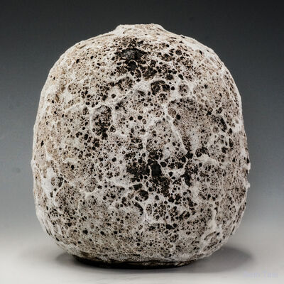 Beth Tate, '#2001 Moon Pot with Crater Glaze', 2020