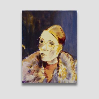 Lindsey Bull, 'Fur Coat and Sunglasses', 2019