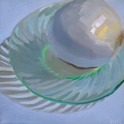 Yuri Tayshete, 'White Onion on the Green', 2018