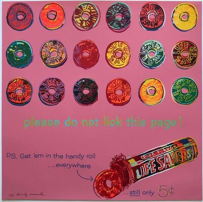 Andy Warhol, 'Lifesavers (F&S 353)', 1985