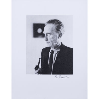 Richard Hamilton, 'Portrait de Marcel Duchamp', 1998