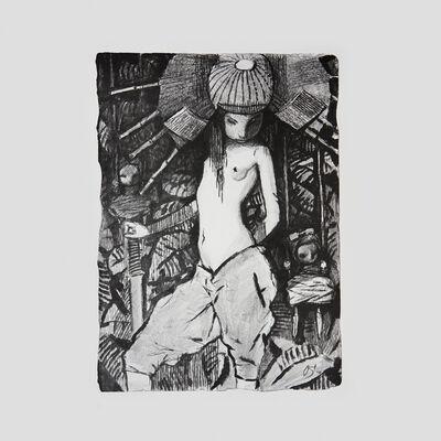 Andrey Ostashov, 'Girl In Samurai's Helmet', 2010