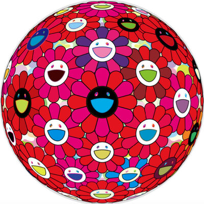 Takashi Murakami, 'Burning Blood', 2018