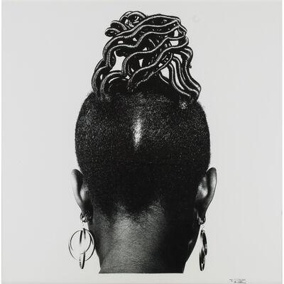 J.D. 'Okhai Ojeikere, 'Suku Sinero Kiko (Hairstyles)', 1974