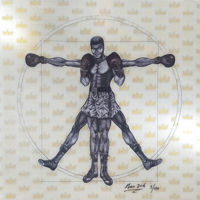 Keng Lau, 'Vitruvian Boxer', 2016