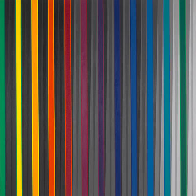 Gabriele Evertz, '(A-) Chromatic Study D/M', 2012